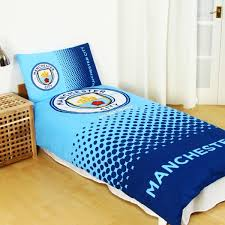 personalised manchester city duvet cover and pillowcase