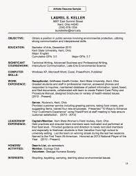 Harriciones Creating Your Resume