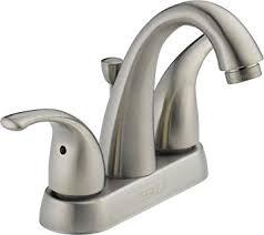 bath faucets brushed nickel. peerless p299695lf-bn apex two handle bathroom faucet, brushed nickel bath faucets h