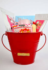 large diabetic sugar free red gift basket by the diabetic pastry chef
