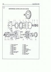 atv repair shop manual clutch diagram exploded views 110cc quad wiring diagram at 110cc Atv Engine Diagram
