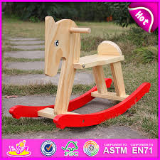2016 funny play wooden rocking horse toy for kids rocking horse for children outdoor rocking horse toy whole w16d058
