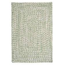 marilyn tweed moss 2 ft x 3 ft braided area rug