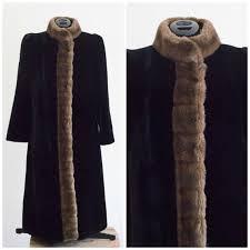 velvet originals faux fur borgazia length winter coat from career size 10
