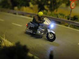 Good Krad Motorrad Mit LED Beleuchtung H0 Variante Nr. 4