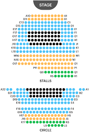 Ambassador Theatre Seating Chart Ambassador Theatre Seating Plan Find Best Seats For Ghost