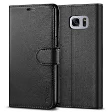 vakoo samsung s7 phone case premium leather cover wallet flip case samsung galaxy s7 black hipurgvop