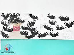 Giorni della Merla: Merli fatti con le Impronte