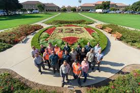 Happy 125th anniversary, Stanford, said in <b>flowers</b> and <b>steel</b> | The ...