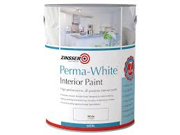 white interior paintZinsser ZINPWES25L 25 Litre PermaWhite Interior Matt Paint