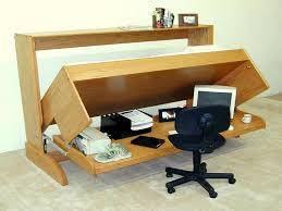 innovative hidden home office computer desk. The Innovative Desk Convertible Bed, Suitable For Small Spaces : Bed 2013 Hidden Home Office Computer I