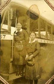 「(1920年 - 東京市街自動車の乗合バスに女性車掌(バスガール)」の画像検索結果