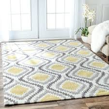 yellow and white area rug handmade modern trellis sunflower 4 x 6 the cabin in rugs