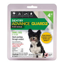 imidacloprid for dogs. Delighful Dogs Sentry Advance Guard 2 Small Dog 311 Lbs 4 Count With Imidacloprid For Dogs