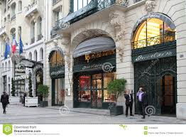 Hotel Des Champs Elysees Luxury On The Avenue Des Champs Elysees Editorial Stock Image