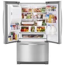 dual ice maker refrigerator. Ft. French Door Refrigerator With Dual Ice Makers Maker A