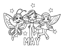 Small Picture May coloring page Coloringcrewcom