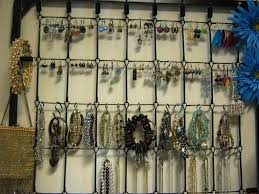 Jewelry Organizer Diy 3 Top Diy Ideas For Wall Jewelry Organizer Jen Joes Design