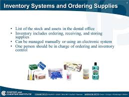 1 Inventory Systems And Supply Ordering 2 Inventory Systems And