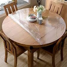 Protective Table Pads Dining Room Tables Simple Amazon OstepDecor Custom 4848mm Thick Crystal Clear Table Top
