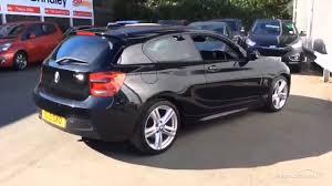 BMW 1 SERIES 118D M SPORT BLACK 2013 - YouTube