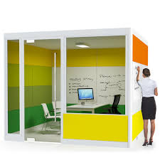 office meeting pods. Spacio Meeting Pods Are Acoustic Office Room Solutions For The Open Plan Office. Customisable In E