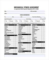 Fitness Assessment Form Classy 48 Fitness Assessment Form Samples Free Sample Example Format
