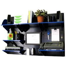 office desk storage. unique desk wall control office organizer unit mounted desk storage and  organization kit black panels for