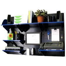 wall mounted office organizer. wall control office organizer unit mounted desk storage and organization kit black panels w