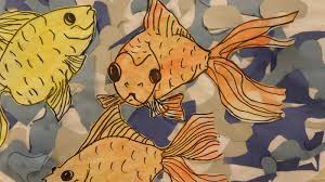 matisse also has a famous painting entitled the goldfish using both his paper cut outs and the goldfish as inspiration the elementary students at