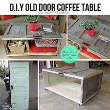 diy crate end table luxury how to make diy salvaged door coffee table step by step
