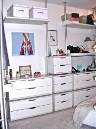 closet chest of drawers minimalist closet design with chest of drawers and shelves also white wall