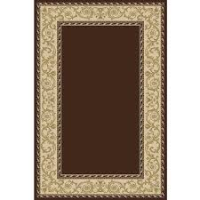 solid brown rug with border traditional rugs cozy rugs solid color area rugs with borders