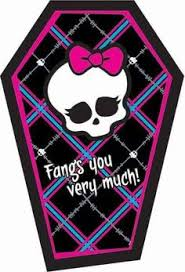 diy set of 8 mini monster high inspired diary notebooks party favors labels only monster high party monster high monster high party and