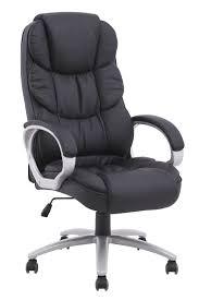 furniture genuine leather high back office chair black desk navy blue executive wheels oak large best