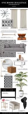One Room Living Design Room Challenge Week 2 Living Room Inspiration Design Plan