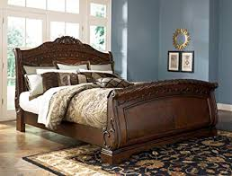 Amazon.com: Ashley North Shore 6/6 King Sleigh Bed B553 ...best ...