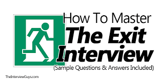 How To Master The Exit Interview Sample Questions Answers Included