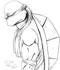 Small Picture Ninja Turtle Drawing Step By Step Image Gallery HCPR