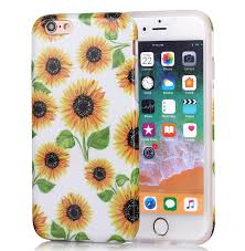 Iphone 6 Plus Cases Designs Iphone 6 Plus Case Girls Floral Design Glossy Tpu Soft Slim Fle6 Plusible Silicone Cute Cover Phone Case For Apple Iphone 6 Plus Iphone 6s Plus Yellow