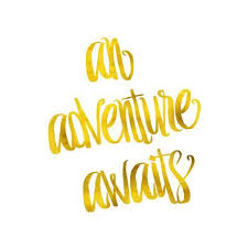 Gold Quotes Unique An Adventure Awaits Quote Gold Faux Foil Metallic Quotes Prints By