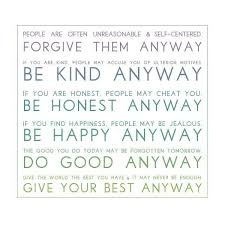 Mother Teresa Quotes Love Them Anyway Cool Mother Teresa Quote Love Them Anyway For You Best Quotes Everydays