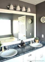 Master Bath Mirrors Master Bathroom Mirror Frame thecompostcookcom