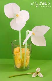 Paper Flower Crafts For Kindergarten Snowdrop Tissue Paper Flowers Kids Craft Room