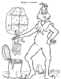 Small Picture The Grinch Who Stole Christmas Coloring Pages Christmas Coloring