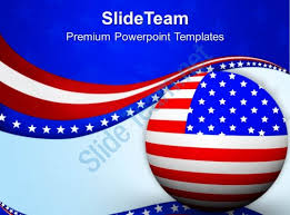 Red White And Blue Powerpoint Templates Patriotic Ppt Templates Powerpoint Template Red White Blue