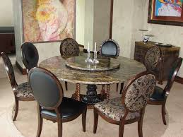 round dining room table for 8. 8 chairs for elegant dining room with granite round table