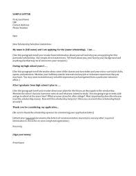 Sample Scholarship Request Letters Sample Scholarship Request Letter Template Sample Scholarship