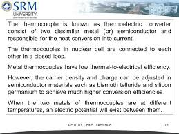 carrier thermocouple. ph 0101 unit-5 lecture-819 the thermocouple is known as thermoelectric converter consist carrier u