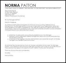 Cover Letter For Tax Preparer Position Tax Manager Cover Letter Zlatan Fontanacountryinn Com